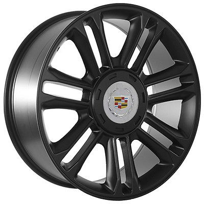 cadillac escalade platinum wheels 22 in Wheel + Tire Packages