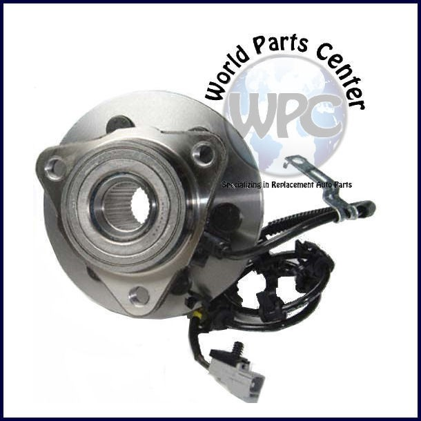 NEW FRONT LEFT WHEEL BEARING HUB WITH 4 WHEEL ABS (Fits Dodge Dakota)