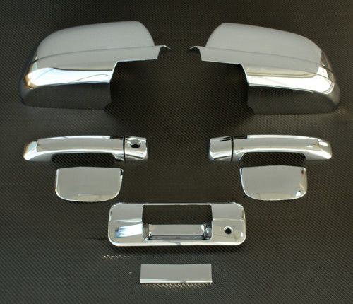 Toyota Tundra Double Cab Chrome Door Mirror Tailgate