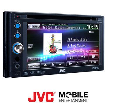 JVC KW AVX640 Brand New in Box 6 1 Touch Screen Double DIN MSRP $499