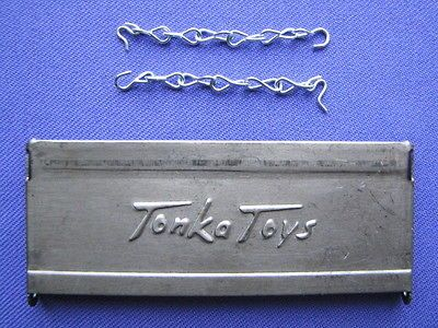 TONKA Toys Stepside Tailgate with Chains for Pickup Truck and Trailer