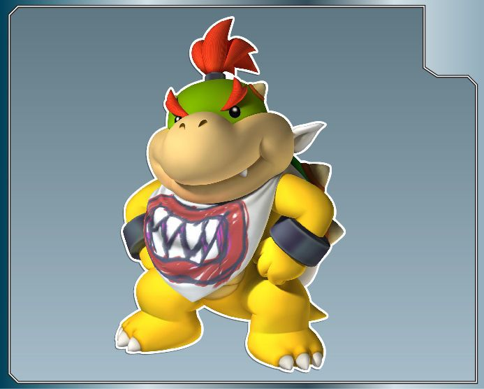 BOWSER JR. #1 from Super Mario Bros. Vinyl Decal Stickers CUSTOM SIZES