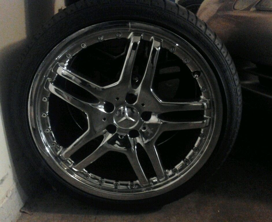 Mercedes 19 inch AMG Style Set of Rims CLK430