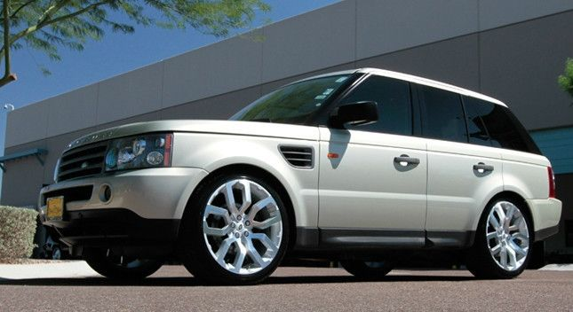 22 Oxford Wheels Set for Range Land Rover HSE LR3 Rims and Caps Set
