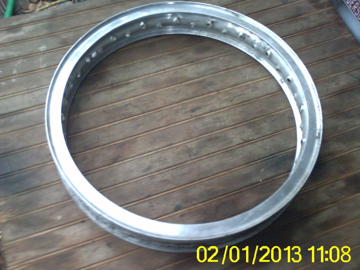 Akront WM3X18 40 Spoke Alloy Rim #43008 60 S0 Sportster.Triumph BSA