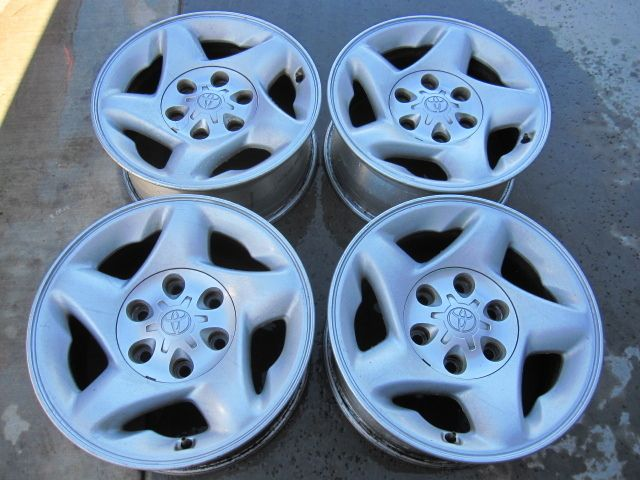 16 Toyota Tacoma Tundra Factory Alloy Wheels Rims 16 Set of 4
