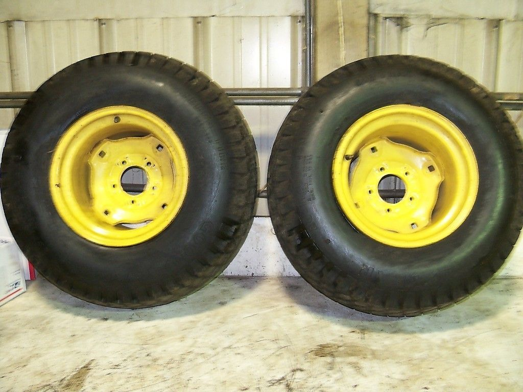 John Deere 430 Rear Rims and Tires 26x12x12