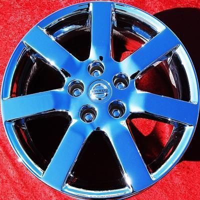 NEW 17 NISSAN MAXIMA OEM WINTERCHROME WHEELS RIMS ALTIMA 240SX 62422
