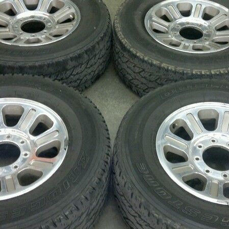 Ford F 250 F 350 18 King Ranch Wheels Tires 4 Set